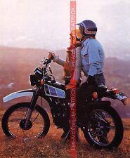 YAMAHA DT 125 MX ( DTMX ) 1977 Fiche Moto 000105