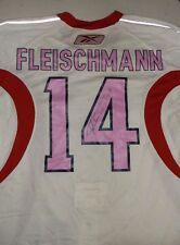 WA Capitals Tomas Fleischmann Pink Breast Cancer Night Autographed Hockey Jersey
