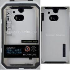 Incipio HTC M8 (2014) DualPro Case Protective Cover White / Gray, HT-396-WHT