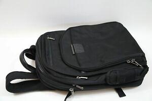 #306 Briggs & Riley KPC308 Black Backpack