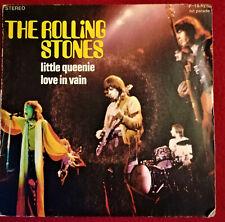 45 TOURS SP THE ROLLING STONES. LITTLE QUEENIE - LOVE IN VAIN.  1971