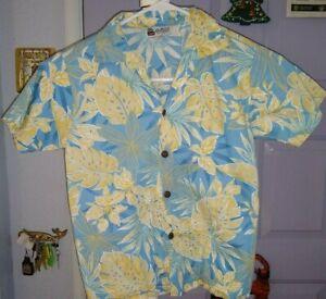 Kids US made  Aloha Republic     Hawaiian   Button up  Shirt   KIDS   6