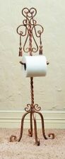 New French Royal Tassel Tissue Regal Twisted Iron Rope Gold Towel Tissue Holder