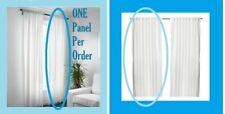 "IKEA Vivan Curtain White Drape""Sheer""Bright(MultipleWShipgDscnt)Panel Single NEW"