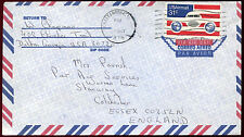 USA 1976 Commercial Airmail Cover To UK #C33683