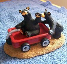 "Big Sky Carvers Jim Fleming Bearfoots "" Wagon Ride """