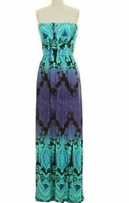 BAROQUE PRINT TUBE MAXI BOUTIQUE dress IN SMALL-OTHER STYLES AVAILABLE