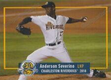 2018 Charleston RiverDogs Anderson Severino RC Rookie NY Yankees