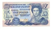 Vintage Banknote UNC Falkland Islands 1984 1 Pound Pick 13a US Seller