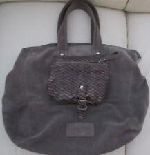 Liebeskind Tasche  Wildleder grau -  40x30x15 - 2 x getragen - neuwertig
