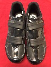 NEW! Shimano R065 Men's Black Road Cycling Shoes EUR 48, US 12 $199 Retail