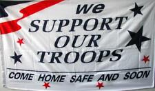 We Support Our Troops 3X5 Flag Fl297 3 X 5 wall hanging polyester new Military