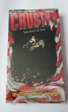 CRUSTY 4 GOD BLESS THE FREAKS - NEW UNOPENED  VHS