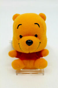 "Tokyo Disney Resort Japan Winnie The Pooh Small Plush Strap Keychain 8.5cm 3.5"""