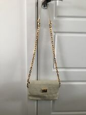marc by marc jacobs bag Leather With Gold Chain Strap