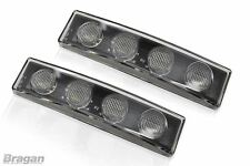 White Scania 4 R Series Visor LED Light x2 Volvo DAF MAN Truck Lorry Accessories