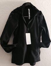 LULULEMON Feelin' Frosty Softshell Jacket Black Reflective Size 10 NWT