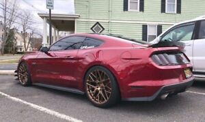 "20"" ROHANA RFX10 BRUSHED BRONZE WHEELS FOR FORD MUSTANG V6 GT 20X9 20X11"