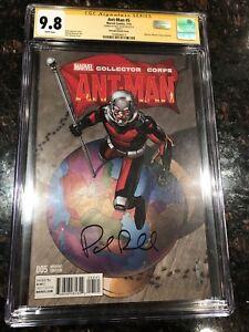 Ant-Man #5 CGC 9.8 SS Paul Rudd variant cover