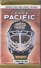 2005 Pacific #ed Auto/Jersey/Cramer's Award Hot Pack STEVE YZERMAN MARIO LEMIEUX