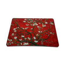 Soft Neoprene Notebook Laptop Optical Mouse Pad Red Almond Trees MP-67