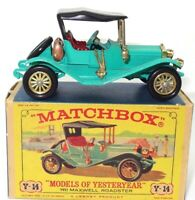 LESNEY MATCHBOX Y-14 1911 MAXWELL ROADSTER - MINT BOXED