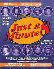 BBC AUDIO RADIO COLLECTION: JUST A MINUTE 8., No author., Used; Good Book
