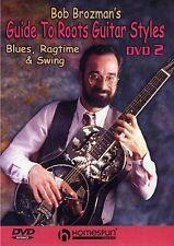 Bob Brozman guide aux racines styles de guitare apprendre jouer blues swing music DVD 2