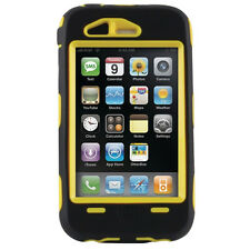 OTTERBOX DEFENDER CASE FOR APPLE IPHONE 3GS - YELLOW & BLACK