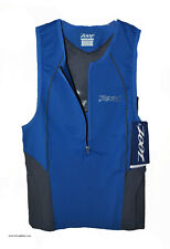 new men's Zoot Ultra Tri Tank Cycling Tri Top Triathon Small swim bike run