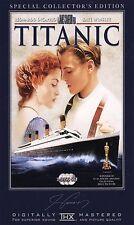 Titanic (DVD, 2005, 3-Disc Set, Collectors Edition/Widescreen)