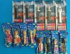 Star Wars 2012 PEZ: LOT of 13, unopened, 8 in plastic & 5 on card, Death Star