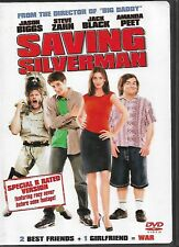 Saving Silverman (Dvd, 2001, Ws) Stars Jack Black & Jason Biggs! ShipsFree!