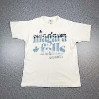 90s Vintage NIAGRA FALLS CANADA Mens T Shirt Small | Single Stitch