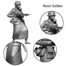 1/35 German Beauty Machine Gunner Resin Soldier  Für 14 Jahre alt oder älte T7O3