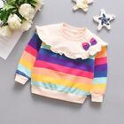 1pc kids girls Clothes autumn sweater Children pullover Kids Outerwear cute top