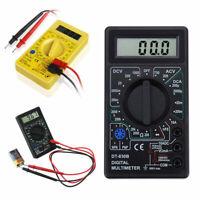 LCD Numérique Multimètre voltmètre ampèremètre ohmmètre AC DC Circuit testeur