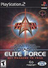 Star Trek: Voyager -- Elite Force (Sony PlayStation 2, 2001)