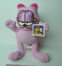 "Garfield Sparkles Pink Cat Plush 12 1/2""  2014"