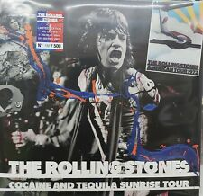 THE ROLLING STONES - COCAINE AND TEQUILA SUNRISE TOUR BLUE VINYL N.102/500