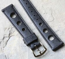 LAST ONE! Short length 16mm Tropic strap type rubber watch band 1960s/70s NOS