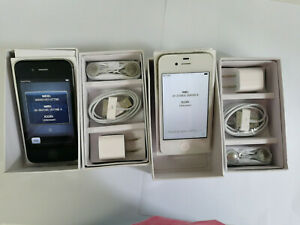 Apple iPhone 4 8GB16GB 32GB IOS 6 IOS 9 Black white unlocked for all carries