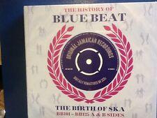 HISTORY OF  BLUEBEAT.   3 CDs  BIRTH  OF. SKA.  BB101. -  BB125. A n B. SIDES.