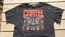 Georgia Rock American Pop Punk Band Cartel T-Shirt Xl Bad Dudes Mens concert