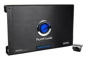 Planet Audio AC2000.2 2000-Watt 2 Channel A/B Car Audio Amplifier with Remote