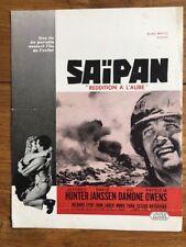 SAIPAN avec JEFFREY HUNTER DAVID JANSSEN VIC DAMONE PATRICIA OWENS -  Synopsis