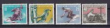 Liechtenstein 1955 postfrisch MiNr. 334-337   Wintersport  /(2)