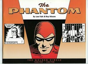 The Phantom: The Golden Circle,reprints of Dailies from 1939-1940,Pre owened.