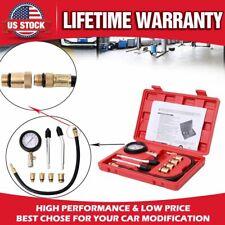 300PSI Engine Cylinder Pressure Gauge Diagnostic Tool Compression Tester Kit