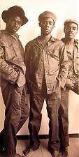 MIGHTY DIAMONDS clipping Rastafari reggae B&W photo 1960s Donald Shaw trio